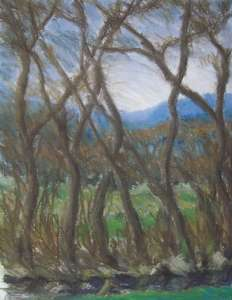 Vorfrühling I, 64 x 49 cm