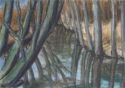 Vorfrühling II, 50 x 35 cm
