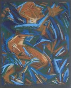 Stossgebet, 77 x 58 cm